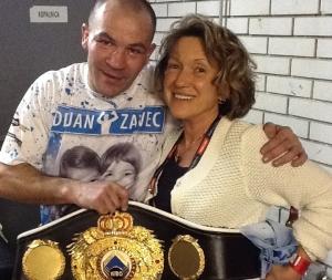 Dejan Zavec je novi medcelinski boksarski prvak združenja WBO.