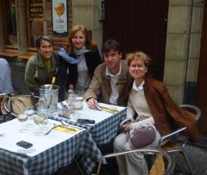 Z menoj - od leve: dr.Sanja Toljan, dr.Saša Marković in dr.Vesna Marković Bruselj, maj 2011